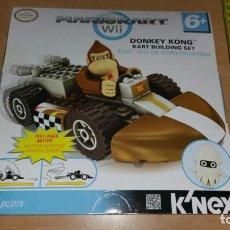 Juegos construcción - Lego: K NEX DONKEY KONG MARIO KART WII K'NEX NINTENDO VEHÍCULO A FRICCION NUEVO. Lote 225002992