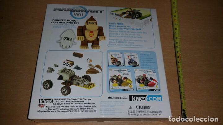 Juegos construcción - Lego: K NEX DONKEY KONG MARIO KART WII KNEX NINTENDO VEHÍCULO A FRICCION NUEVO - Foto 2 - 225002992