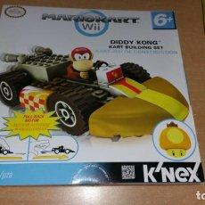 Juegos construcción - Lego: K NEX DIDDY KONG MARIO KART WII K'NEX NINTENDO VEHÍCULO A FRICCION NUEVO. Lote 225003076