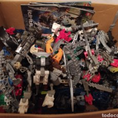Juegos construcción - Lego: GRAN LOTE DE PIEZAS LEGÓ BIONICLE. Lote 226285990