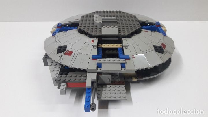 Juegos construcción - Lego: ANTIGUA NAVE ESPACIAL POSIBLEMENTE DE STAR WARS . ORIGINAL DE LEGO . PARA COMPLETAR O RECAMBIOS .... - Foto 4 - 226461650