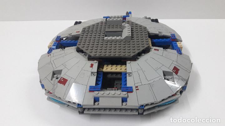 ANTIGUA NAVE ESPACIAL POSIBLEMENTE DE STAR WARS . ORIGINAL DE LEGO . PARA COMPLETAR O RECAMBIOS .... (Juguetes - Construcción - Lego)