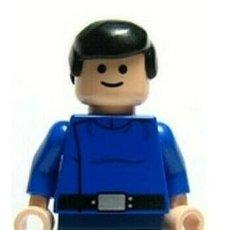 Juegos construcción - Lego: LEGO MINIFIGURA STAR WARS CAPITAN REPUBLICA ORIGINAL. Lote 277471818