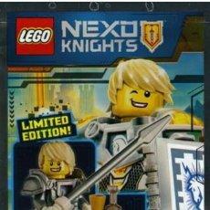 Juegos construcción - Lego: LEGO MINIFIGURA LANCE DE NEXO KNIGHTS, EDICION LIMITADA, ORIGINAL. Lote 227731570