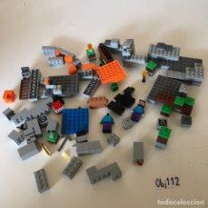 Juegos construcción - Lego: LOTE DE PIEZA LEGOS MINECRAFT. Lote 227992130