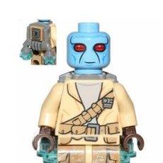 Juegos construcción - Lego: LEGO MINIFIGURA STAR WARS DUROS ALLIANCE FIGHTER, JET PACK ORIGINAL. Lote 228616600