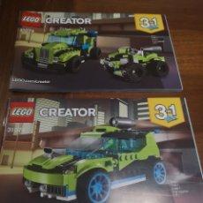 Juegos construcción - Lego: MANUAL DE INSTRUCCIONES LEGO 31074. CREATOR X2.. Lote 229227615