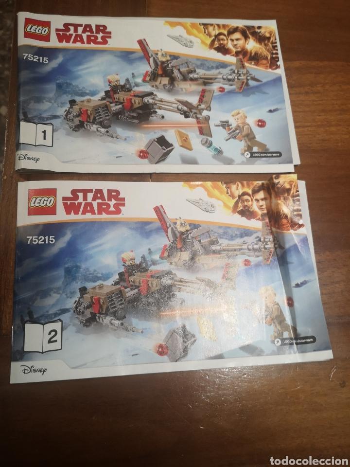 MANUALES 75215 LEGO STAR WARS (Juguetes - Construcción - Lego)