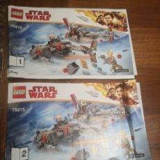 Juegos construcción - Lego: MANUALES 75215 LEGO STAR WARS. Lote 229228115