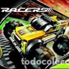 Juegos construcción - Lego: LEGO MANUAL INSTRUCCIONES SET 8670 RACERS JUMP MASTER. Lote 229396875