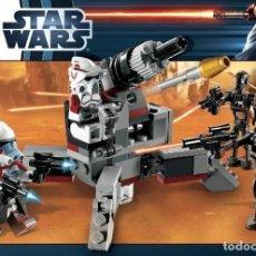 Juegos construcción - Lego: LEGO STAR WARS MANUAL INSTRUCCIONES SET 9488 ELITE CLONE TROOPER & COMMANDO DROID BATTLE. Lote 229399700