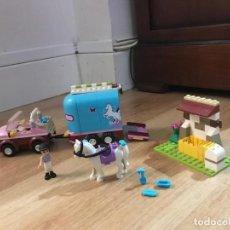 Juegos construcción - Lego: LEGO FRIENDS . REMOLQUE DEL CABALLO.. Lote 231058630