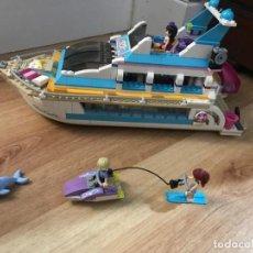 Juegos construcción - Lego: EL YATE DE LEGO FRIENDS. Lote 231059060
