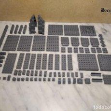Juegos construcción - Lego: 171 PIEZAS LEGO GRIS OSCURO VARIOS TAMAÑOS (335 GRAMOS APROXIMADAMENTE). Lote 232423155