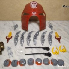 Juegos construcción - Lego: 130 PIEZAS LEGO BIONICLE REF: 8759 + PEGATINAS A ESTRENAR (300 GRAMOS APROXIMADAMENTE). Lote 232476430