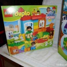 Juegos construcción - Lego: 2 CAJAS LEGO DUPLO 10854 Y 10833.LEER DESCRIPCION. Lote 232728715