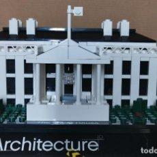 Juegos construcción - Lego: LEGO 21006 DE LA CASA BLANCA THE WHITE HOUSE ARCHITECTURE COMPLETO. Lote 233011680