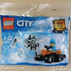 Juegos construcción - Lego: LEGO CITY 30360 ARTICO: SIERRA DE HIELO. NUEVO SIN ABRIR .. Lote 233918520
