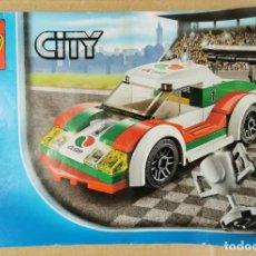 Juegos construcción - Lego: LEGO CITY 60053 GREAT VEHICLES RACE CAR OCTAN COMO NUEVO. Lote 233924810