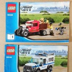 Juegos construcción - Lego: LEGO CITY 60048 UNIDAD CANINA DE POLICIA COMO NUEVO AÑO 2014. Lote 233943260