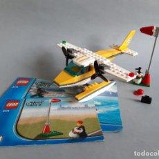 Juegos construcción - Lego: AVIÓN HIDROAVIÓN LEGO SEAPLANE REF. 3178 - CON INSTRUCCIONES. Lote 234046205