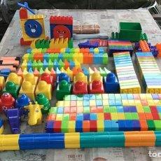 Juegos construcción - Lego: GRAN LOTE DE PIEZAS LEGO DUPLO - MAS DE 250 PIEZAS - CASI 3KGR DE PESO. Lote 234314650