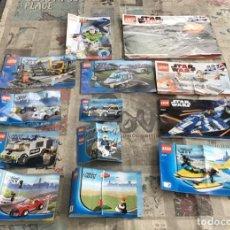 Juegos construcción - Lego: LOTE FOLLETOS - CATALOGOS - LEGO DIFERENTES MODELOS - MIRAR FOTOS ADICIONALES. Lote 234321920