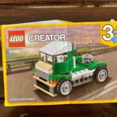 Juegos construcción - Lego: LEGO CREATOR REF 31056 CAMION CATALOGO INSTRUCCIONES ORIGINAL. Lote 235101000