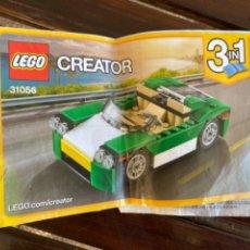 Juegos construcción - Lego: LEGO CREATOR REF 31056 COCHE CATALOGO INSTRUCCIONES ORIGINAL. Lote 235101230