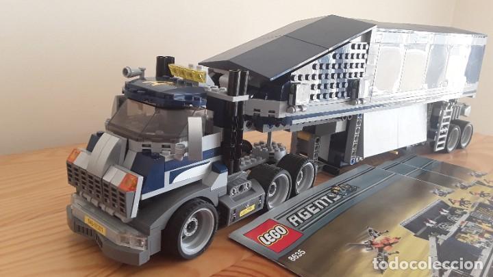 Juegos construcción - Lego: Lego Agents 8635. Camión - Foto 12 - 235349360