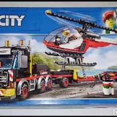 Juegos construcción - Lego: LEGO CITY 60183, CAMIÓN DE TRANSPORTE DE MERCANCIAS PESADAS. NUEVO Y PRECINTADO EN SU CAJA ORIGINAL.. Lote 236253755