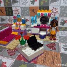 Juegos construcción - Lego: LEGO FRIENDS HABITACION SET 41009, CON INSTRUCCIONES, SIN CAJA. Lote 236347120