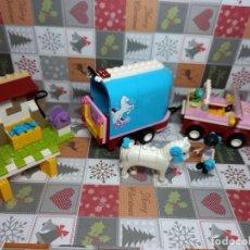 Juegos construcción - Lego: LEGO FRIENDS REMOLQUE DEL CABALLO SET 3186, CON INSTRUCCIONES, SIN CAJA. Lote 236347890