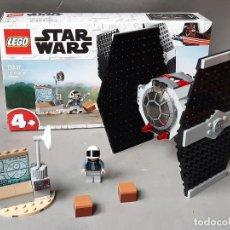Juegos construcción - Lego: LEGO STAR WARS REF 75237 TIE FIGHTER ATTACK CON UNA MINIFIGURA E INSTRUCCIONES. Lote 236764925