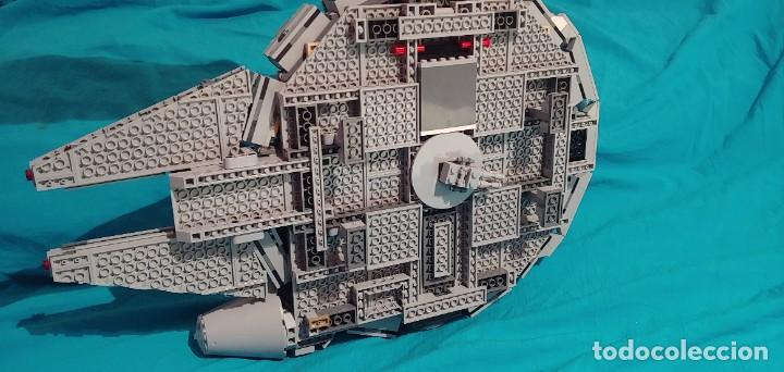 Juegos construcción - Lego: LEGO STAR WARS REF. 75105 HALCON MILENARIO-MILLENNIUN FALCON.CAJA-INSTRUCIONES-MUÑECOS - Foto 9 - 237021030