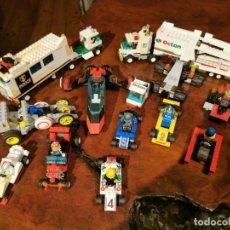 Juegos construcción - Lego: GRAN LOTE DE VEHICULOS LEGO Y PIEZAS PARA COMPLETARLOS L5. Lote 237317130