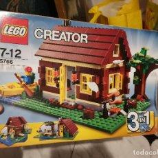 Juegos construcción - Lego: OCASION COLECCIONISTAS ANTIGUO JUGUETE JUEGO DE CONSTRUCCION LEGO CREATOR 3 EN 1 REFERENCIA 5766. Lote 237323575
