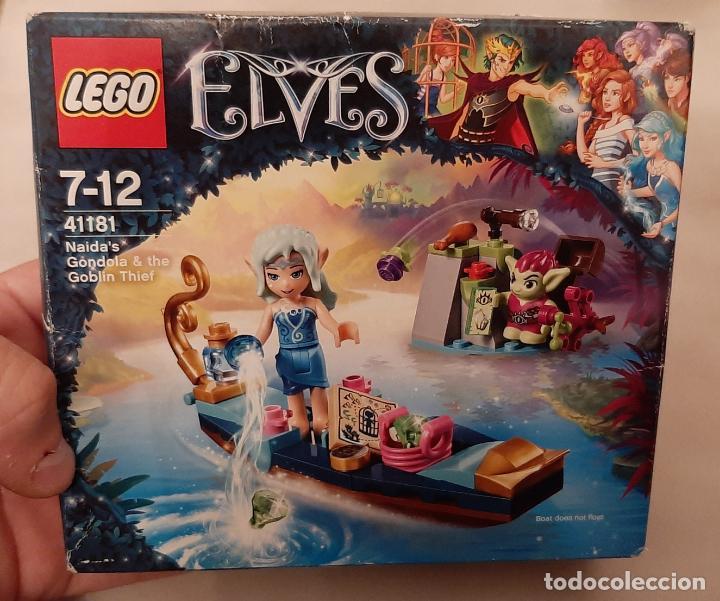Juegos construcción - Lego: CAJA LEGO ELVES 41181 ELFOS NAIDA GONDOLA BARCA Y EL DUENDE LADRON NUEVO - Foto 2 - 237563615