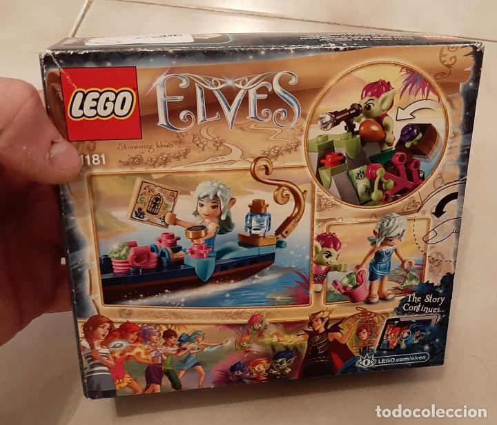 CAJA LEGO ELVES 41181 ELFOS NAIDA GONDOLA BARCA Y EL DUENDE LADRON NUEVO (Juguetes - Construcción - Lego)