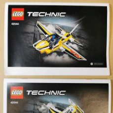 Juegos construcción - Lego: LEGO 42044TECHNIC SE PUEDEN HACER DOS MODELOS 2 EN 1 JET AVIÓN DESCATALOGADO 2015. Lote 237659835