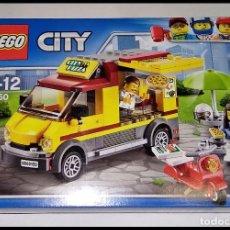 Juegos construcción - Lego: LEGO CITY, 60150, VEHÍCULO DE PIZZAS, DEL AÑO 2016, NUEVO Y PRECINTADO EN SU CAJA ORIGINAL.. Lote 237739645