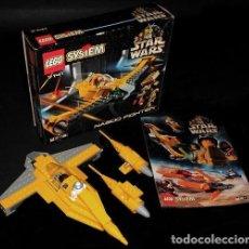 Juegos construcción - Lego: LEGO. SYSTEM. STAR WARS. 7141. NABOO FIGHTER.. Lote 238179205