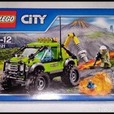 Juegos construcción - Lego: LEGO CITY, 60121, VEHÍCULO EXPLORACIÓN VOLCÁN, DEL AÑO 2016, NUEVO Y PRECINTADO EN SU CAJA ORIGINAL.. Lote 238844565