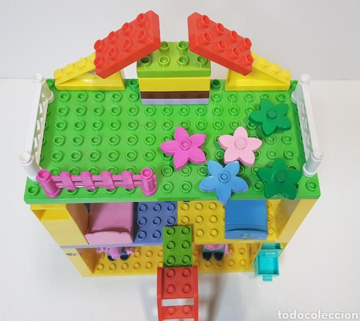 Juegos construcción - Lego: PEPPA PIG - CASA BLOQUES CONSTRUCCIÓN CON 4 FIGURAS / UNIGO - Foto 6 - 240378275
