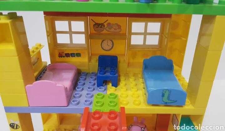 Juegos construcción - Lego: PEPPA PIG - CASA BLOQUES CONSTRUCCIÓN CON 4 FIGURAS / UNIGO - Foto 7 - 240378275
