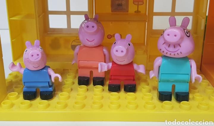 Juegos construcción - Lego: PEPPA PIG - CASA BLOQUES CONSTRUCCIÓN CON 4 FIGURAS / UNIGO - Foto 8 - 240378275