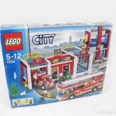Juegos construcción - Lego: PARQUE DE BOMBEROS LEGO SET REF 7208 COMPLETO EN CAJA CON INSTRUCCIONES Y MINIFIGURAS - FIRE STATION. Lote 240762130