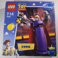 Juegos construcción - Lego: LEGO 7591 TOY STORY ZURG PRECINTADO SIN ABRIR. Lote 240776170