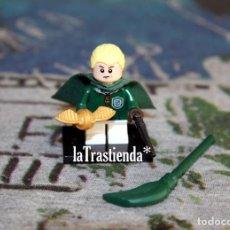 Juegos construcción - Lego: FIGURA LEGO HARRY POTTER - DRACO MALFOY. Lote 240897750