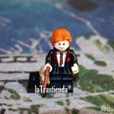 Juegos construcción - Lego: FIGURA LEGO HARRY POTTER - RON WEASLEY. Lote 240898645